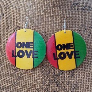 New One Love Earrings